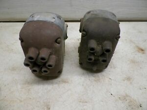 2 Old American Bosch Tractor Magnetoes For Restoration