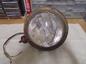 Vintage Teardrop Head Light And Housing For A Hot Rod Rat Rod 1930 S