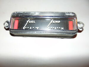 Vintage Car Truck Fuel Temperature Gauge