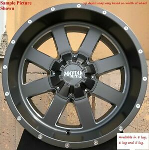 4 New 22 Wheels Rims For Ford F 350 2005 2006 2007 2008 2009 Super Duty 972