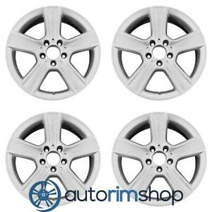 Mercedes C300 C350 2010 2011 17 Factory Oem Staggered Wheels Rims Set