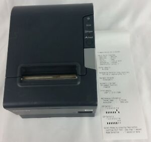 Epson Tm t88v M244a Usb Thermal Receipt Printer