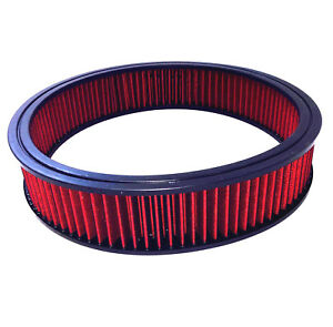 14 X 3 Air Cleaner Element Replacement Washable Air Filter Ford Chevy Mopar