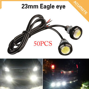 50x 9w Eagle Eye Lamp Daylight Led Drl Fog Daytime Running Car Light Tail Lights