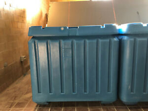New Poly Box Insulated Food Service Container 30 Cu Ft For Shipping Storage