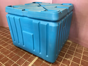 New Poly Box Insulated Food Service Container 11 Cu Ft For Shipping Storage