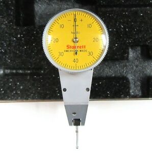 New Starret 811 Test Indicator W swivel Head 0 01mm 0 40 0