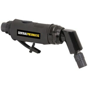 Central Pneumatic 1 4 In 120 Angle Air Die Grinder Paddle Lever W Spring
