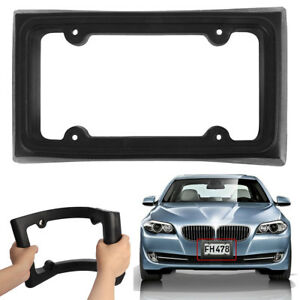 Bumper Guard License Plate Frame Holder For Front Mount Bracket Car Protector