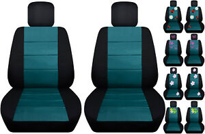 Vw Beetle Front Car Seat Cover Black Teal W Daisy Ladybug Hibiscus Butterfly