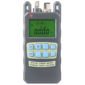 Fiber Optical Power Meter Cable Tester Visual Fault Locator Ftth Tester Tool
