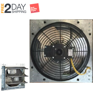 Exhaust Fan For Greenhouses Attic Farms Garage Workshops Industrial Wall Mount