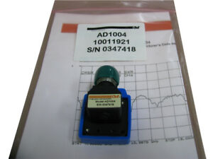 Coaxial Adapter Ad1004 7 5 To 18 Ghz 500 Watts