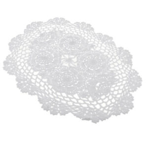 Hand Crochet Cotton Table Runner Doily Lace Table Doilies Placemats Mat Pad