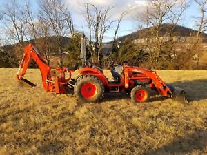 2014 Kioti Ck 25 Tractor Loader Backhoe