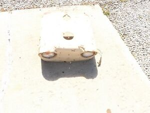 1961 Ck Case Model 930 Tractor Hood Housing With Lights