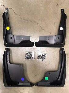 2018 2019 Camry Mudguards Mud Flaps Se And Xse Black Toyota Genuine Oem New
