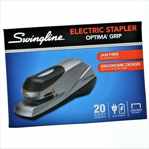 Swingline Electric Stapler Optima Grip 20 Sheet Capacity