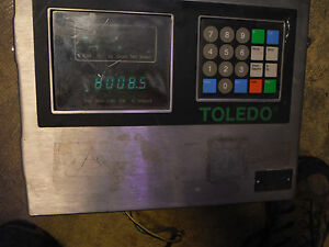 Mettler Toledo Scale 8142 1009 120vac Digital Operator Panel 1000 Lb