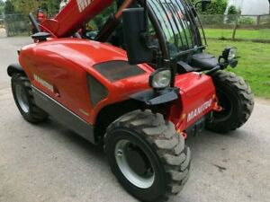 Telehandler Manitou 3458 Hours Recently Full Serviced