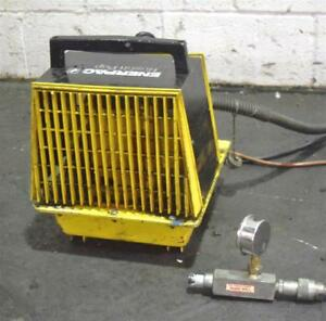 Enerpac per1521 Portable Hydraulic Pump 10 000 Psi