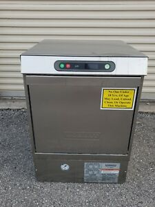 Hobart Lxi h Sanitizing High Temperature Commercial Dishwasher Lxi Series