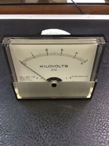Gates Radio Co Model 2031 0 5 Dc Kilovolts 632 0575 002