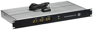 Ese Es 102 Gps Satellite Smpte ebu Tc90 Timecode Atomic Led Clock Time Receiver