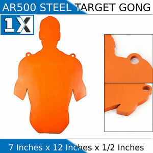 AR500 Steel 7quot; x 12quot; x 1 2quot; Slaymaker Rifle Targets Shooting Plate Gong Pistol $31.42