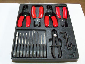 New Snap on And Blue point Tool Kit Terminal And Pick Set Fuel Line Release Tool
