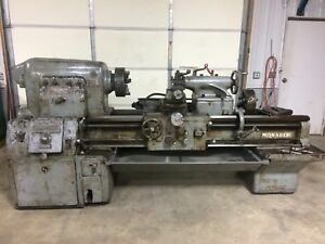Monarch 26 x48 Metal Lathe D1 6 Tooling 3 4 Jaw Chucks Taper Toolpost 230v 3ph