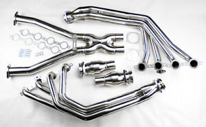 Chevy Corvette 1997 2004 C5 Ls1 L6 Stainless Exhaust Headers Manifolds