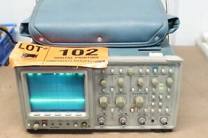 Tektronix 2440 Digital Oscilloscope 300 Mhz 500 Msa s 2 Channel Manuals Lot