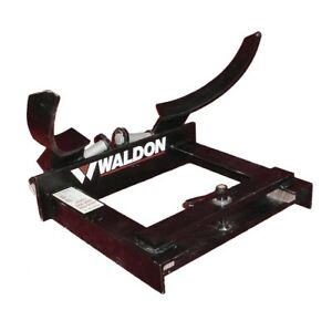 Waldon Vf1285 Grip o drum Barrel Clamp Forklift Attachment 500lb Max Lb Vf 1285