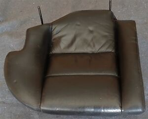 Left And Right Bmw E32 Black Rear Power Seat Bottom Sections