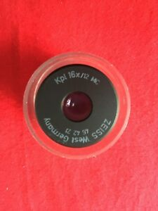 Zeiss Eyepiece Kpl 16x 12 Part 46 42 21