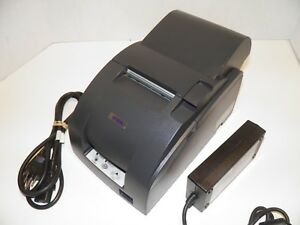 Epson Tm u220a M188a Dot Matrix Kitchen Bar Pos Receipt Printer Usb W Power