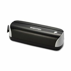 Bostitch Electric 3 hole Punch Ac Or Battery Black Up To 12 Sheets Paper Crafts