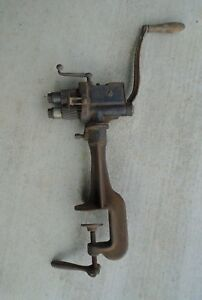 Vintage No 4 Stovepipe Crimping Beading Tool Tinsmith Roller Stove Pipe