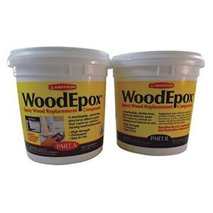Epoxy For Wood Rotted Sealant Paste Outdoor Indoor Sealant Repair 2 Gallon Kit