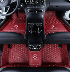 For 2005 2019 Mercedes benz All Models Luxury Custom Waterproof Floor Mats