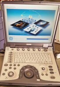 Ge Logiq E 2007 Portable Ultrasound With 1 Linear 12l rs