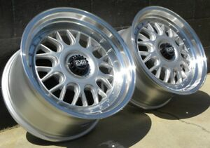 Sl 17x8 5 17x10 5x100 5x112 Rims Wheels Esm 004m Vw Jetta Gold Mercedes Audi