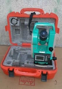 Sokkia Dt610 Electronic Digital Theodolite 7 Survey Instrument 1 26 04