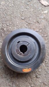 Browning 2tb74 Double Groove Sheave Pulley 1 3 8 I d Keyway 3 8