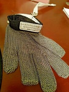 Chroni Stainless Steel Mesh Glove Cut Resistant Chain Protective
