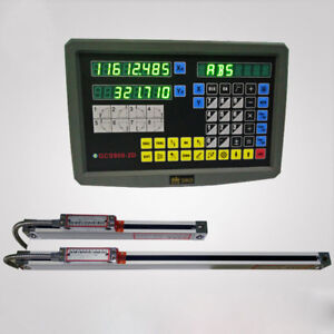 2 Axis Digital Readout With Precision Linear Scale Profession High Quality