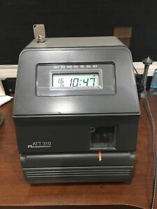 Acroprint Electronic Time Clock Model Att 310