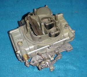 Holley 1850 Carb Carburetor 600 Cfm Electric Choke Chevy Ford Buick Dodge Amc