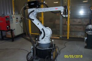 New Motoman Hp20 6 Robot Cell With Nx100 Welding Package